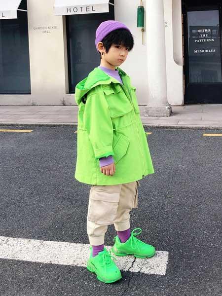 遇见·七克拉童装品牌2020春夏休闲棒球服