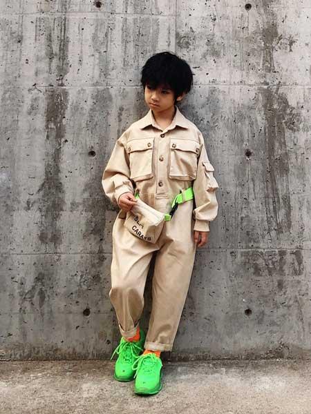 遇见·七克拉童装品牌2020春夏帅气工装外套