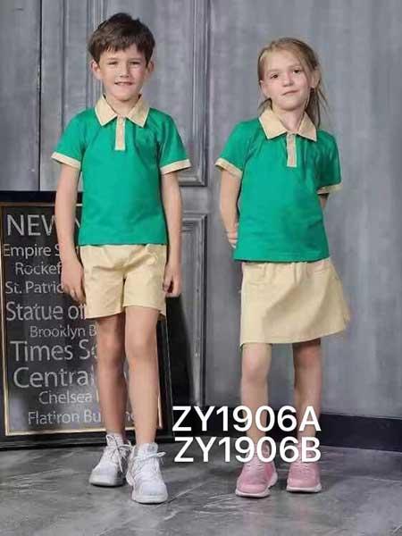 卓之衣园服童装品牌2020春夏校园棉麻校服