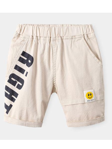 WELLKIDS童装品牌2020春夏新款工装运动裤
