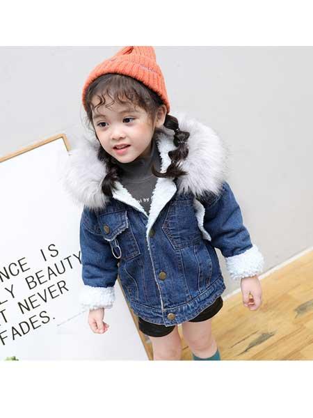 果力侠童装品牌2020春夏女童新款韩版外套中小童儿童韩版印花外套