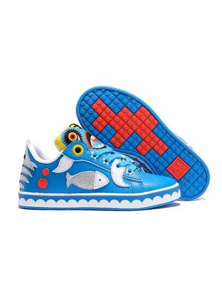 班队长BANDZ童装品牌2020春夏高帮涂鸦怪兽鞋