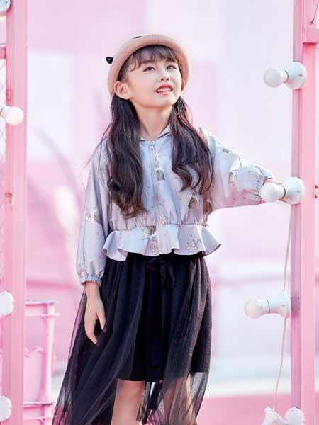 DIZAI童装品牌2020春夏假两件连衣裙