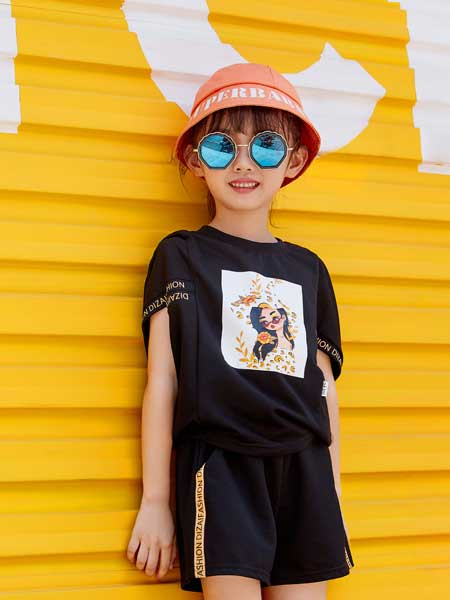 DIZAI龙8品牌2020春夏纯棉短袖