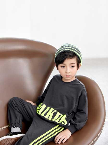 DIZAI童装品牌2020春夏休闲卫衣运动套装