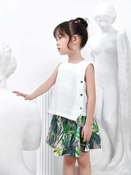 DIZAI童装品牌2020春夏无袖短袖