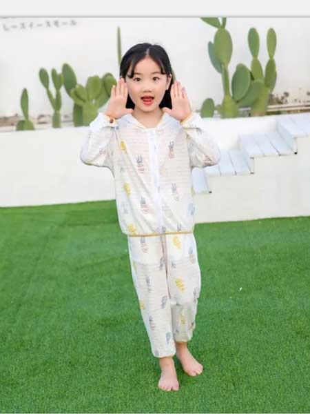 妈咪印象童装品牌2020春夏纯棉透气睡衣套装