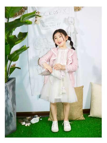 DC童装童装品牌2020春夏甜美女童小裙子