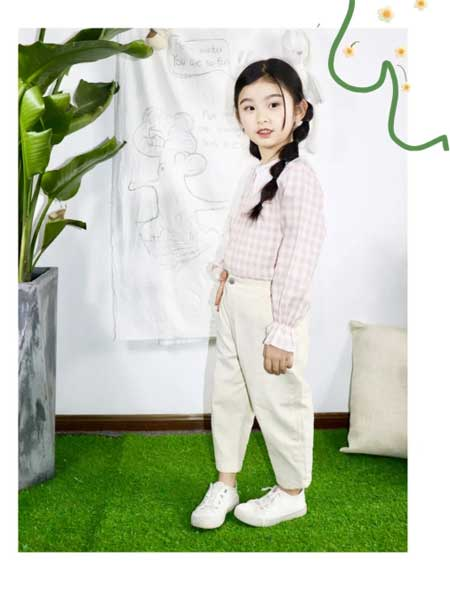 DC童装童装品牌2020春夏甜美衬衫外套