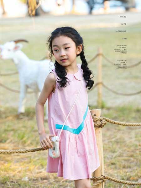 班吉鹿banjilu龙8品牌2020春夏小朋友女童连衣裙