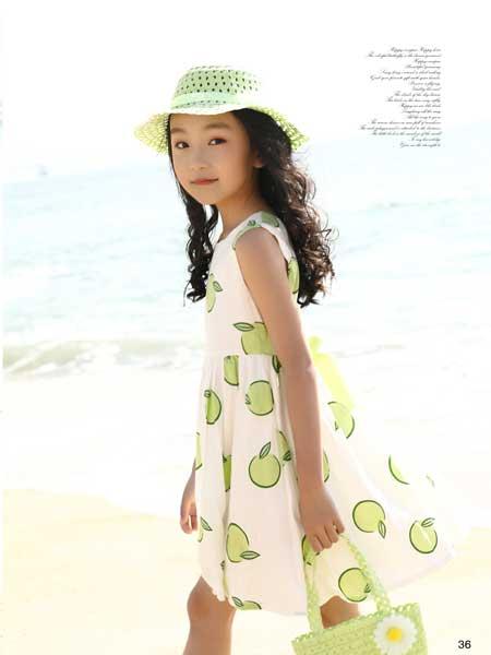 班吉鹿banjilu童装品牌2020春夏小朋友女童连衣裙