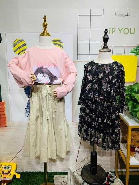 杭州永福熊品牌折扣童装童装品牌2020春夏时尚套装裙