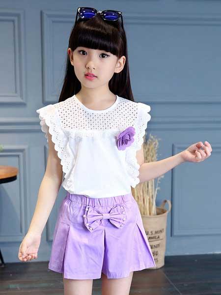 宾果童话童装品牌2020春夏宝宝套装裙