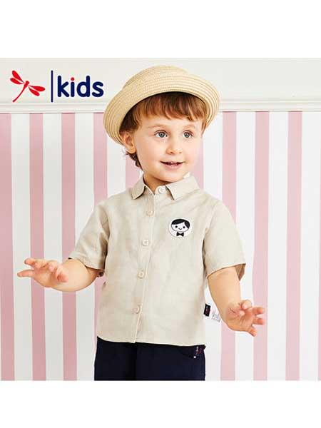红蜻蜓KIDS童装品牌2020春夏Polo衫宝宝短袖