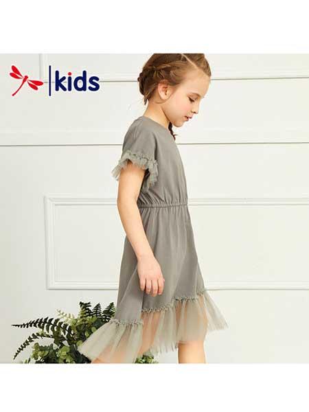 红蜻蜓KIDS童装品牌2020春夏网纱连衣裙