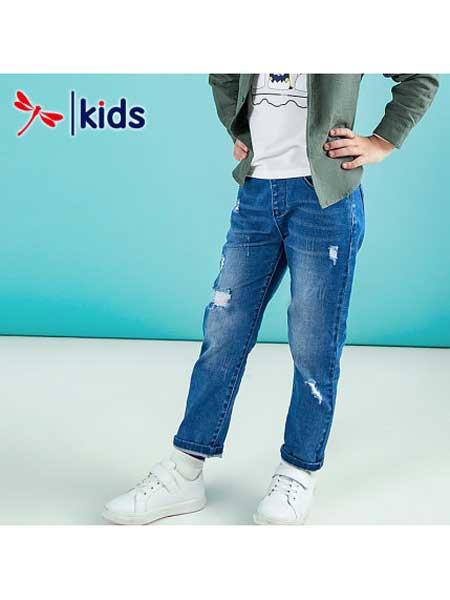 红蜻蜓KIDS童装品牌2020春夏显瘦牛仔裤
