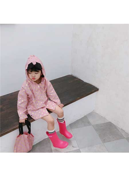 喆尔童装品牌2020春夏新款韩版女童灯芯绒两面穿条绒连衣裙