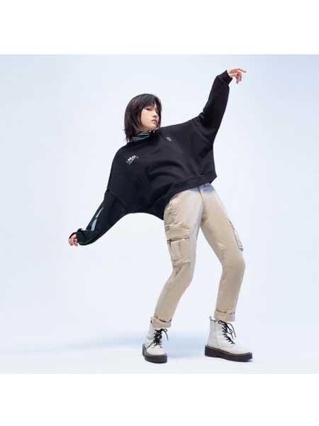 GAP国际品牌2020春夏舒适圆领卫衣插肩袖休闲上衣女