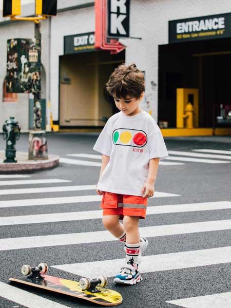 巴迪小虎BaDi Tiger童装品牌2020春夏纯棉印花T恤