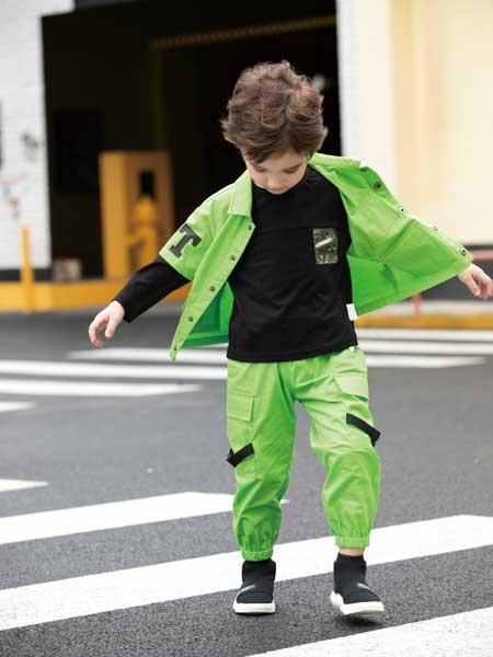 巴迪小虎BaDi Tiger童装品牌2020春夏时尚夹克衫