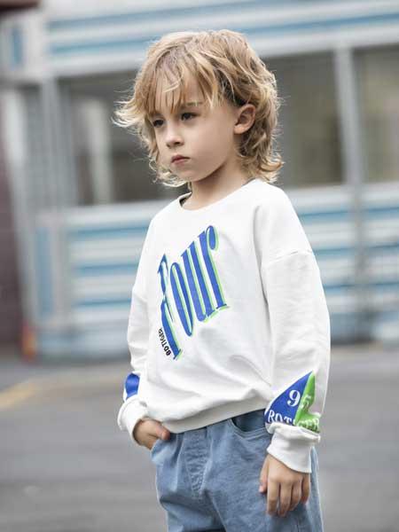 巴迪小虎BaDi Tiger童装品牌2020春夏纯棉T恤长袖