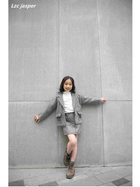 贾斯珀Lzc jasper童装品牌2020春夏时尚女童套装裙