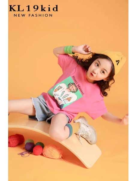 永福熊童装品牌2020春夏纯棉T恤运动套装