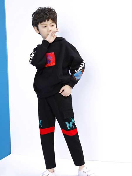 艾宝依童装品牌2020春夏休闲运动套装