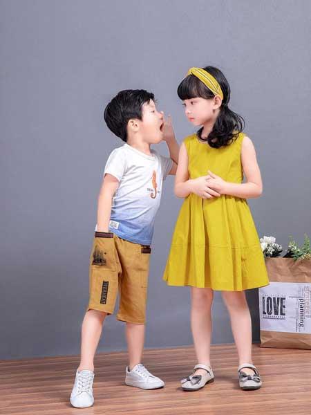 �����趣童�b品牌2020春夏女童�B衣裙