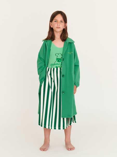 Weekend House童装品牌2020春夏女童长款外套