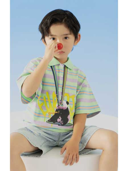 欧恰恰童装品牌j加盟提供有效的品牌传播支持