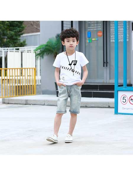 潮童酷仔童装品牌2020春夏牛仔裤韩版修身童装长裤洗水磨毛布料短裤