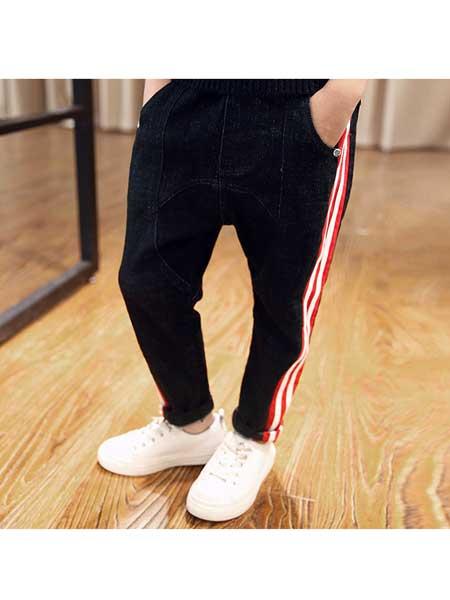 潮童酷仔童装品牌2020春夏新款潮童装裤子儿童韩版长裤