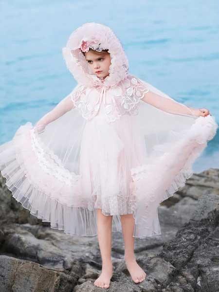 小象Q比童装品牌2020春夏网纱仙女连衣裙