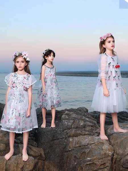 小象Q比童装品牌2020春夏公主裙礼服裙