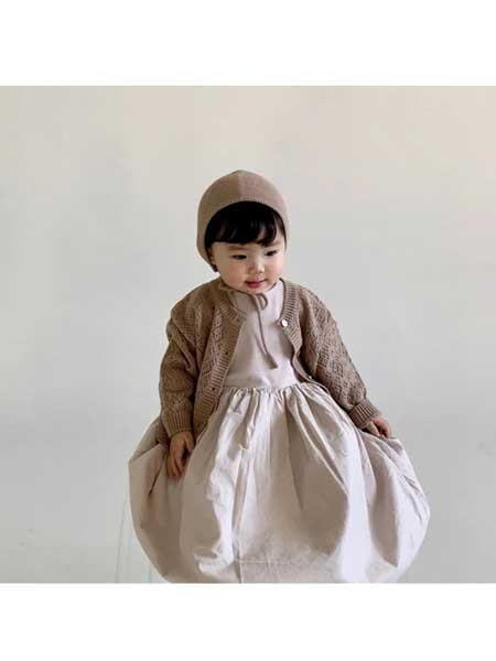 BIEN A BIEN童装品牌2020春夏棉麻连衣裙