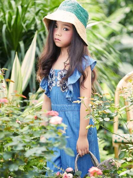 艾米艾门龙8品牌2020春夏女童连衣裙