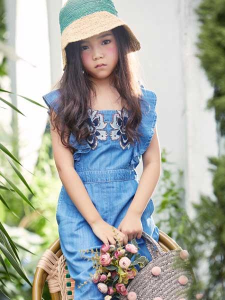 艾米艾门童装品牌2020春夏女童连衣裙