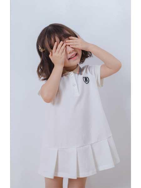 恰贝贝童装品牌2020春夏宽松女童连衣裙
