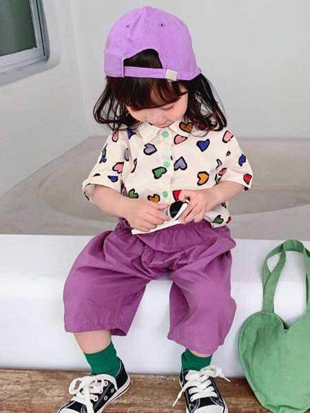 创优品童装童装品牌2020春夏涂鸦卡通短袖