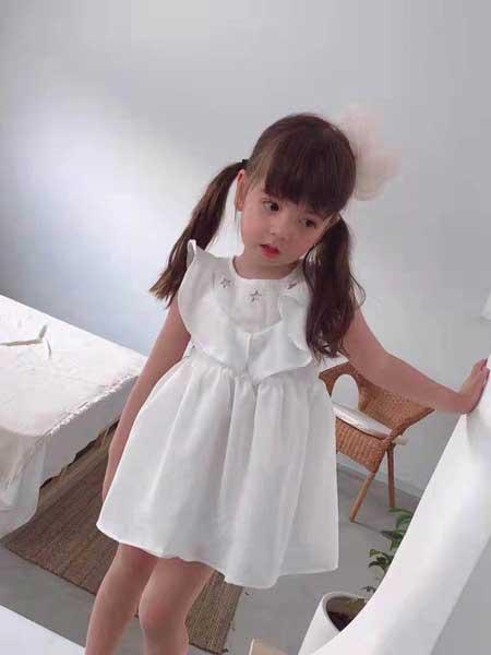 创优品童装童装品牌2020春夏棉麻睡衣裙子