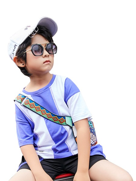 KISSABC童装品牌2020春夏纯棉男童运动套装