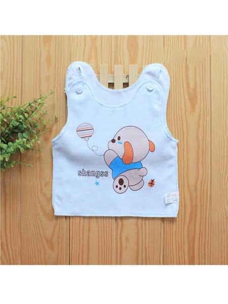 上树鼠童装品牌2020春夏可爱卡通棉婴儿背心吊带衫新生儿衣服男女宝宝上衣