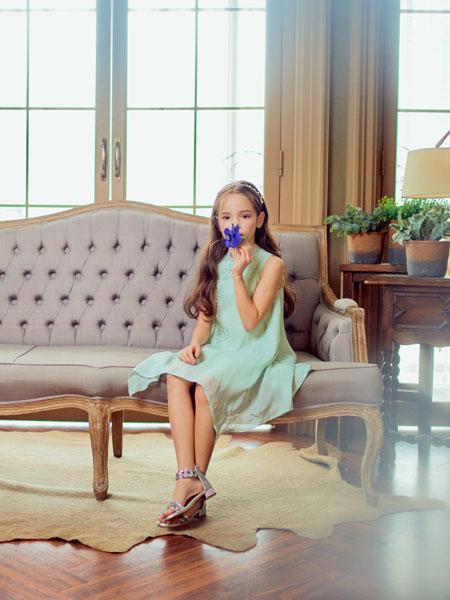 boabo.宝儿宝童装品牌2020春夏宽松女童连衣裙