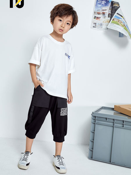 TU童装品牌2020春夏纯色T恤短袖