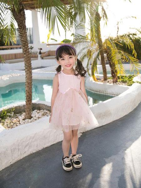 Maomier猫咪儿童装品牌2020春夏女童网纱裙公主裙