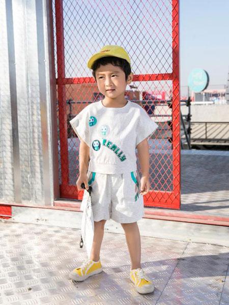 Maomier猫咪儿童装品牌2020春夏休闲套装纯棉套装