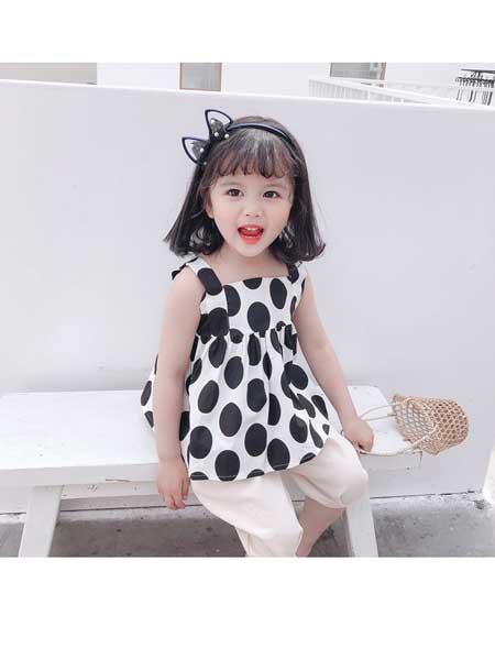 悠悠之星童装品牌2020春夏女童套装1-5岁童装儿童夏季洋气春装女宝宝衣服网红夏装新款