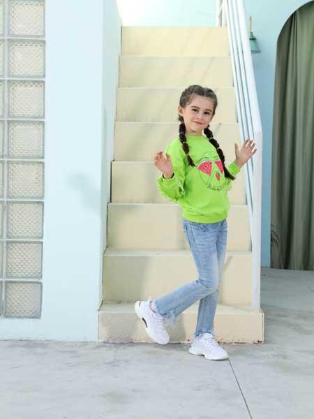 芭乐兔童装品牌2020春夏纯棉舒适长袖卫衣
