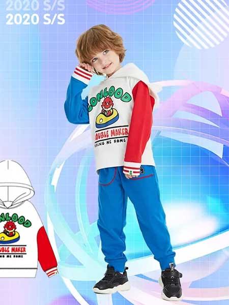 龙宝部落Conlood童装品牌2020春夏印花个性卡通卫衣